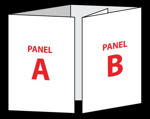 8.5 x 11 Extended Gate Fold Brochure