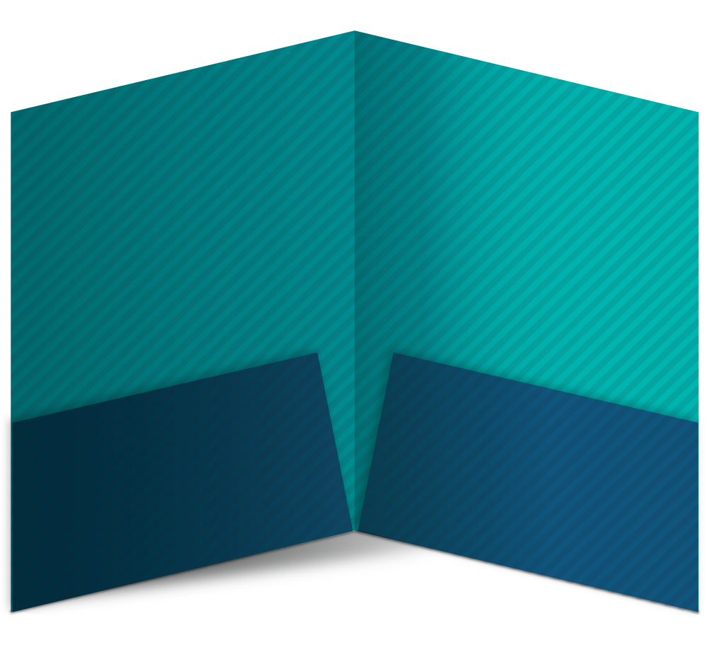 9.5 x 12 Pocket Folder Template