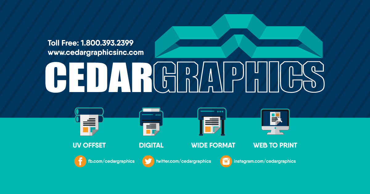 Cedar Graphics, Inc | UV Offset & Digital Printing | Commercial